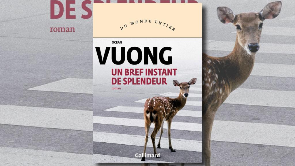 """Couverture du roman gay """"Un bref instant de splendeur"""" d'Ocean Vuong"""