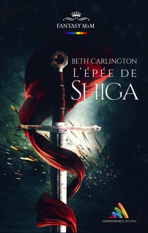 """Couverture du roman """"L'Épée de Shiga"""""""