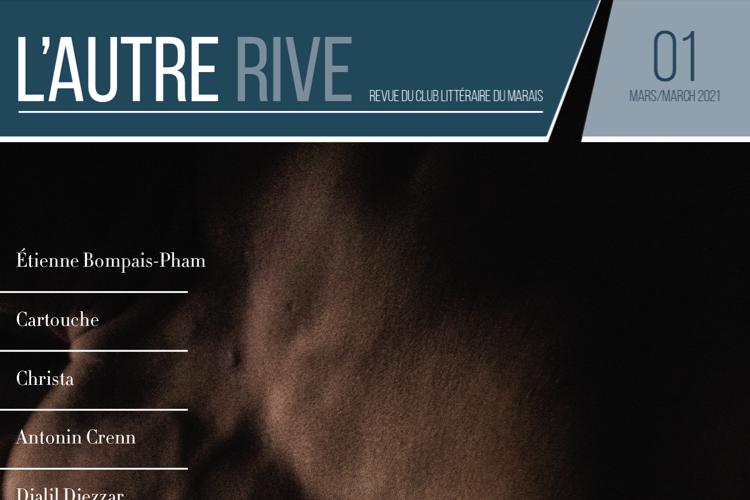 Couverture de la revue littéraire LGBT « L'Autre Rive »
